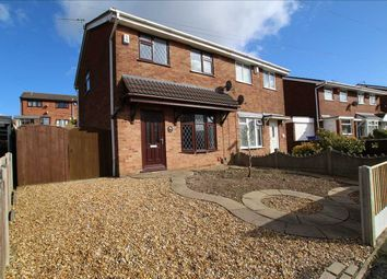 Thumbnail 3 bed semi-detached house for sale in Souldern Way, Meir Hay, Stoke On Trent