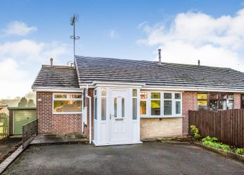 Thumbnail 2 bed semi-detached bungalow for sale in Brindley Crescent, Cheddleton, Leek