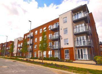 Thumbnail 1 bed flat for sale in Lett Lane, Castle Hill, Ebbsfleet Valley, Swanscombe