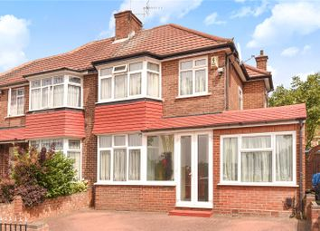 Thumbnail 3 bed semi-detached house for sale in Burnell Gardens, Stanmore, Middlesex