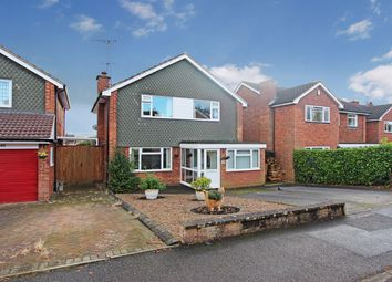 Thumbnail 4 bed detached house for sale in Lime Grove, Kirby Muxloe, Leicester
