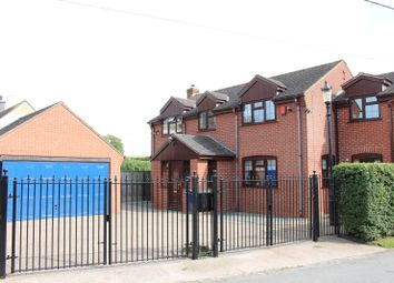 Thumbnail 3 bed detached house for sale in Church Lane, No Mans Heath
