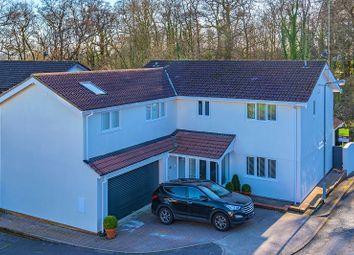 Thumbnail 5 bed detached house for sale in Sennybridge Crofta, Lisvane, Cardiff.
