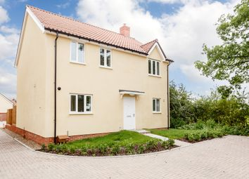 Thumbnail 4 bedroom detached house for sale in Bury Road, Chedburgh, Bury St. Edmunds