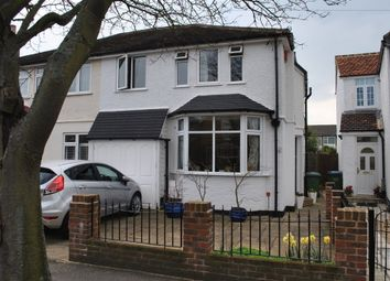 Thumbnail 3 bed property to rent in Nightingale Road, West Molesey