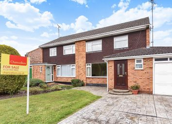 Thumbnail 3 bed semi-detached house for sale in Welford Road, Woodley, Reading