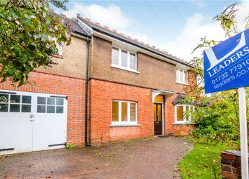 Thumbnail 4 bed semi-detached house for sale in Woodfield Road, Tonbridge, Kent