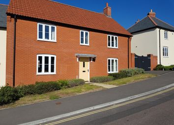 Thumbnail 3 bed end terrace house for sale in Lyme Close, Axminster, Devon