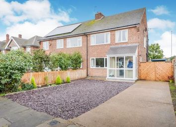 3 bed semi-detached house for sale in Haddon Crescent, Chilwell, Nottingham, Nottinghamshire NG9