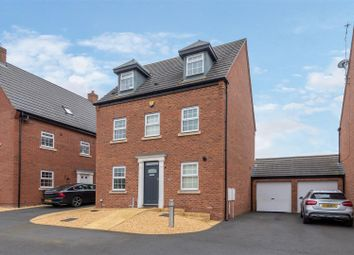 Thumbnail 5 bed detached house for sale in White Steed Close, Stafford