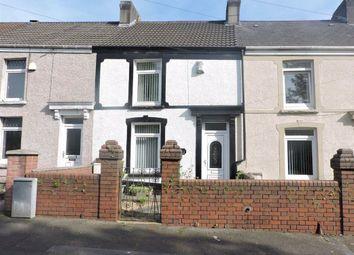 Thumbnail 2 bedroom terraced house for sale in Jersey Road, Bonymaen, Swansea