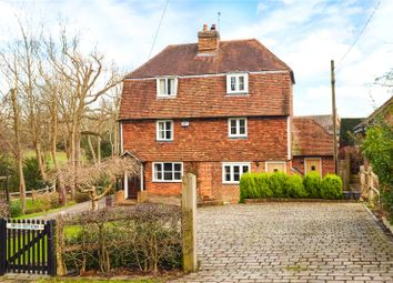 Thumbnail 2 bed semi-detached house for sale in Brook Cottages, Church Road, Weald, Sevenoaks