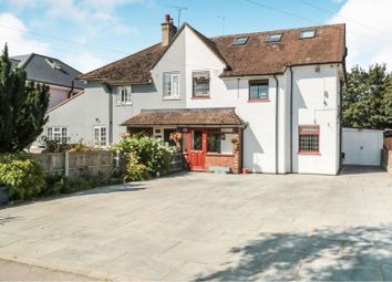 Thumbnail 4 bed semi-detached house for sale in Luxborough Lane, Chigwell
