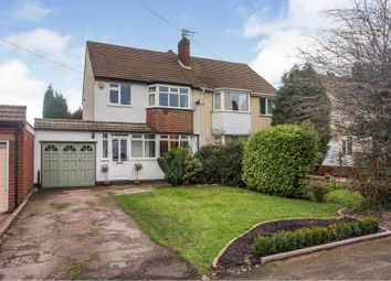 Thumbnail 3 bed semi-detached house for sale in Cliveden Avenue, Walsall