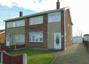 Thumbnail 3 bed semi-detached house for sale in Oakwood Drive, Armthorpe, Doncaster.