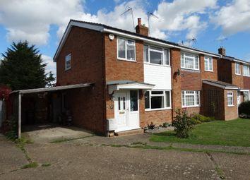 Thumbnail 3 bed semi-detached house for sale in North Down, Staplehurst, Tonbridge