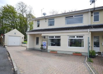 Thumbnail 5 bed end terrace house for sale in Flemish Close, St. Florence, Tenby