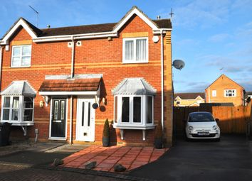 Thumbnail 2 bed semi-detached house for sale in Parcevall Drive, Hull