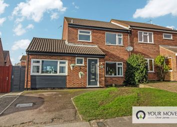 Thumbnail 4 bed semi-detached house for sale in The Brindles, Carlton Colville, Lowestoft