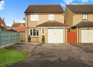 Thumbnail 3 bed detached house for sale in Cloverfield Drive, Soham, Ely