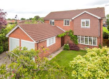 Thumbnail 4 bedroom detached house for sale in Portisham Place, Strensall, York