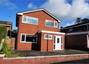 Thumbnail 4 bed detached house for sale in Meadow Close, Farndon
