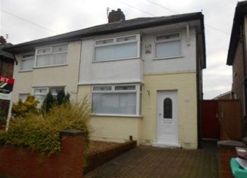 Thumbnail 3 bed semi-detached house to rent in Jefferys Cres L36, 3 Bed Semi