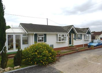 Thumbnail 2 bed mobile/park home for sale in Wessex Park, Sutton Scotney, Winchester