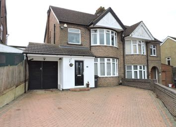 Thumbnail 3 bed semi-detached house for sale in Woodbury Hill, Luton