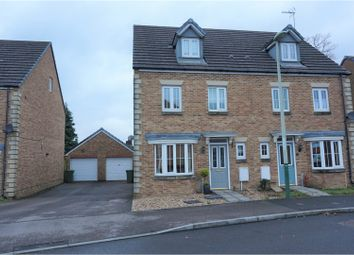 Thumbnail 4 bed semi-detached house for sale in Brook Rise, Oakdale