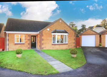 Thumbnail 3 bed detached bungalow for sale in Poplar Close, Ruskington, Sleaford