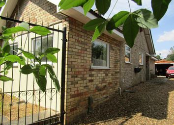 Thumbnail 2 bed bungalow to rent in Eye Road, Peterborough