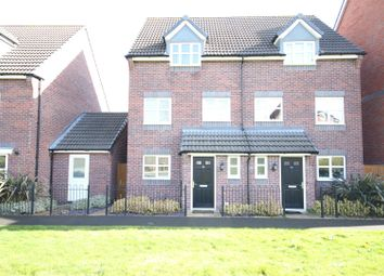 Thumbnail 3 bedroom semi-detached house for sale in College Green Walk, Mickleover, Derby