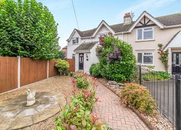 Thumbnail 3 bed semi-detached house for sale in Cherry Tree Cottage Malling Road, Teston, Maidstone