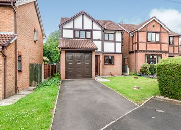 Thumbnail 3 bed detached house for sale in Tiverton Close, Radcliffe, Manchester, Greater Manchester