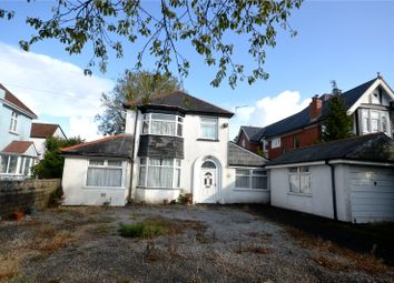 Thumbnail 4 bed detached house for sale in Cyncoed Road, Cyncoed, Cardiff