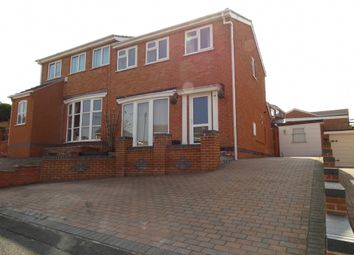 Thumbnail 3 bed semi-detached house to rent in Ash Grove, Brinsley, Nottingham