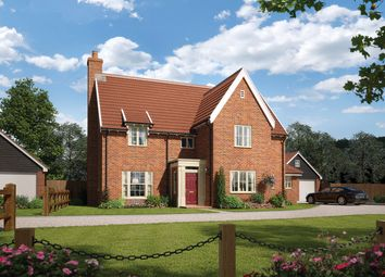 Thumbnail 5 bed detached house for sale in Ipswich Road, Grundisburgh, Suffolk