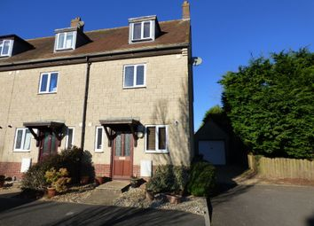 Thumbnail 3 bed end terrace house for sale in Christys Gardens, Shaftesbury
