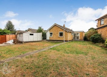 Thumbnail 3 bed detached bungalow for sale in Elms Close, Earsham, Bungay