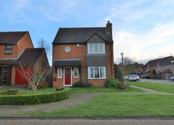 Thumbnail 3 bedroom detached house for sale in Lynmouth Crescent, Furzton, Milton Keynes