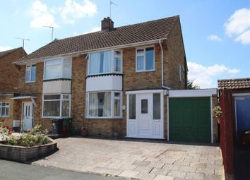 Thumbnail 3 bed semi-detached house for sale in Sandringham Road, Lawns, Swindon