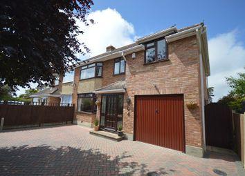 Thumbnail 4 bed semi-detached house for sale in Southbourne Road, Pennington, Lymington