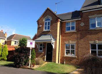 Thumbnail 3 bedroom end terrace house to rent in Swift Close, Stanley Park