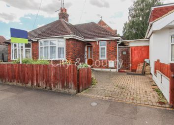Thumbnail 2 bed semi-detached bungalow for sale in Summerfield Road, Peterborough