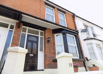 Thumbnail 3 bedroom terraced house for sale in Corporation Road, Gillingham
