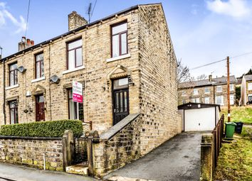 Thumbnail 3 bed end terrace house for sale in Longcroft Street, Golcar, Huddersfield