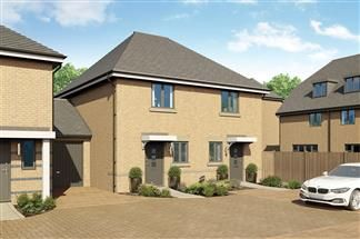 Thumbnail 2 bed terraced house for sale in Plot 107, Bellway At Qeii, Howlands, Welwyn Garden City, Hertfordshire