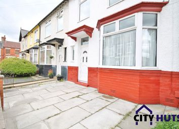 Thumbnail 4 bed terraced house to rent in Whitland Road, Fairfield, Liverpool