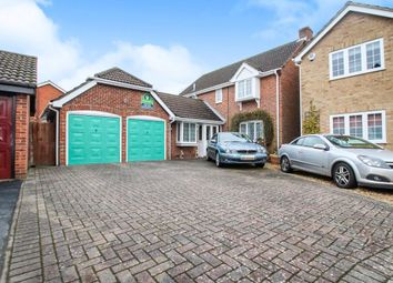 Thumbnail 4 bed detached house for sale in Sorrel Close, Locks Heath, Southampton